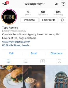 Follow TYPE on Instagram!